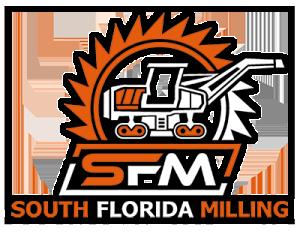 South Florida Milling Logo: Asphalt Milling Truck