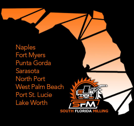 South Florida Milling Service Areas: Naples, Fort Myers, Punta Gorda, Sarasota, North Port, West Palm Beach, Port St. Lucie, Lake Worth | South Florida Milling